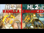 Half-Life 2 - Vanilla vs. Enhanced - Weapons Comparison 4K 60FPS