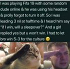 Respect to our gamer bro❤