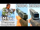 Counter-Strike: Source vs. M9K Addon - Weapons Comparison 4K 60FPS
