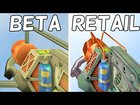 Half-Life - Retail vs. Beta - Weapons Comparison 4K 60FPS