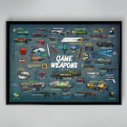 🔫I made this poster with a lot of video game weapons!🔫