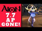 AION 7.7 NEW GEAR - 50kk AP Gone In 5 Minutes! HARD TO GET NEW PVP GEAR!...