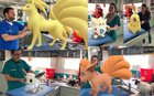 A veterinary hospital in Mexico used Pokemon Go's snapshot feature to turn their office into a Pokemon Center