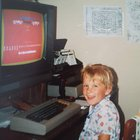 """First time gaming ever playing """"Hangman"""" on DOS back in 1985."""