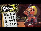 An In-Depth Wish List for Splatoon 3 on the Nintendo Switch!!