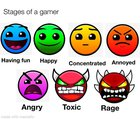 Stages of a gamer
