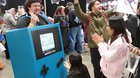 Gamer made a GIANT working Game Boy Color costume for a convention